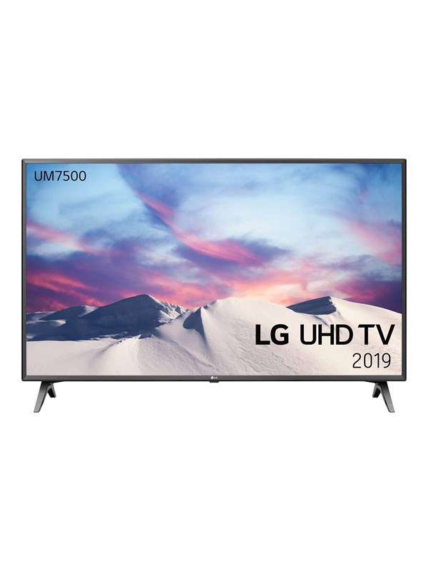 "Image of   LG 43"" Fladskærms TV 43"" - 43UM7500 - LED - 4K -"