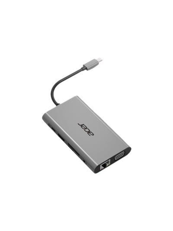 Image of   Acer 10-In-1 Type-C Dongle - port replicator - HDMI