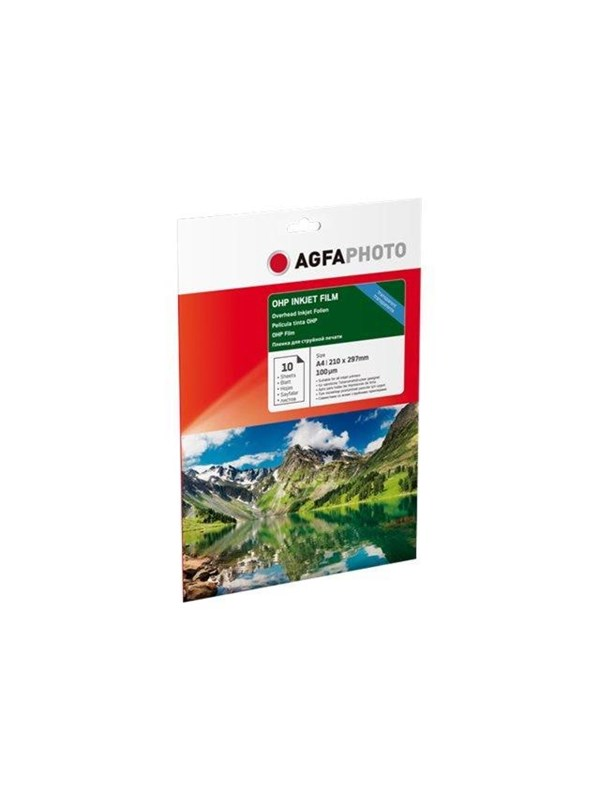 Image of   Agfa Photo - transparency film - 10 sheet(s) - A4