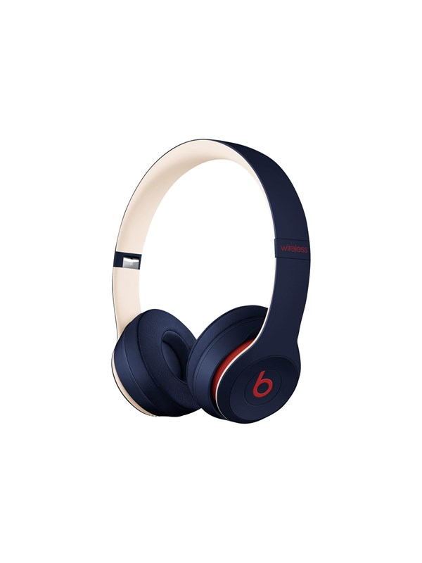 Image of   Apple Beats Solo3 Wireless - Beats Club Collection - Club Navy - Rød