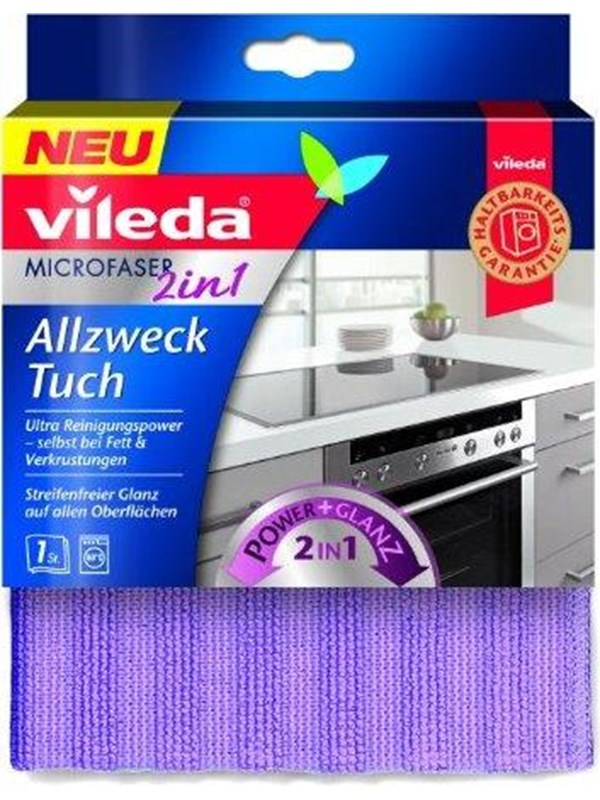 Image of   Vileda 2-in-1 kitchen cloth