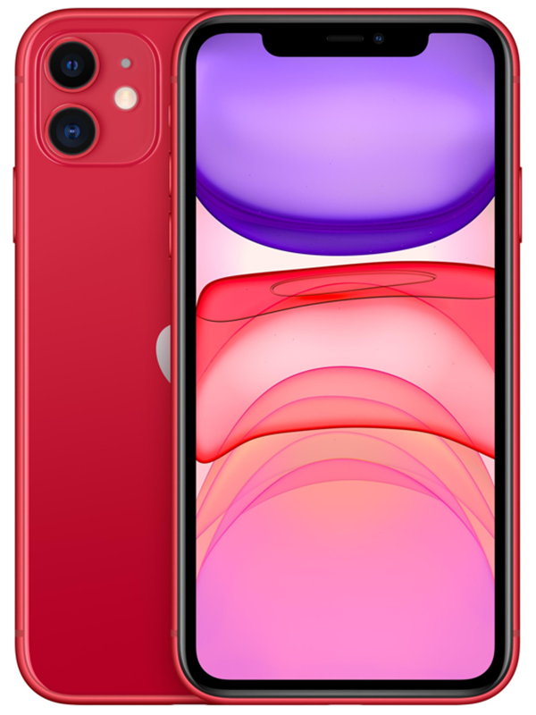 Image of   Apple iPhone 11 64GB - Red