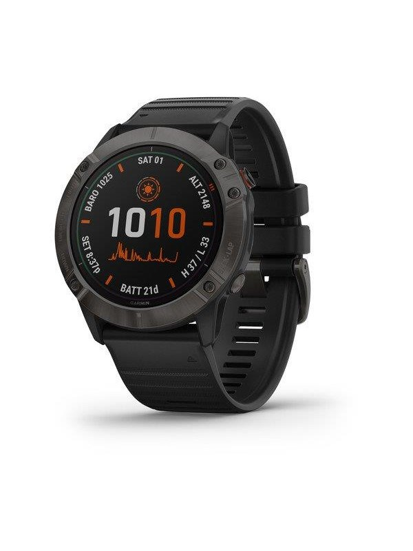 Image of   Garmin fenix 6X Pro Solar Titanium black/grey