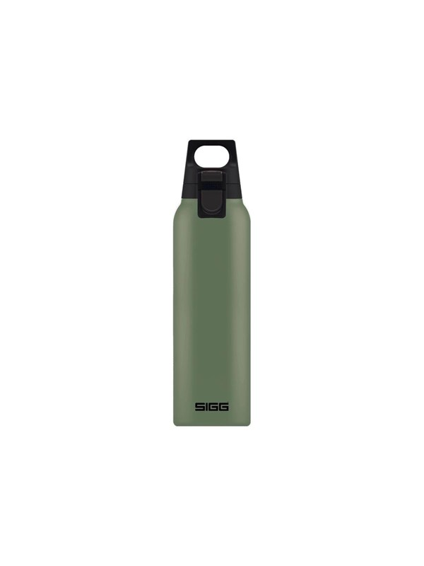 Image of   Sigg Hot & Cold ONE - thermal flask - leaf green - Size 7.2 cm - Height 26.5 cm - 0.5 L