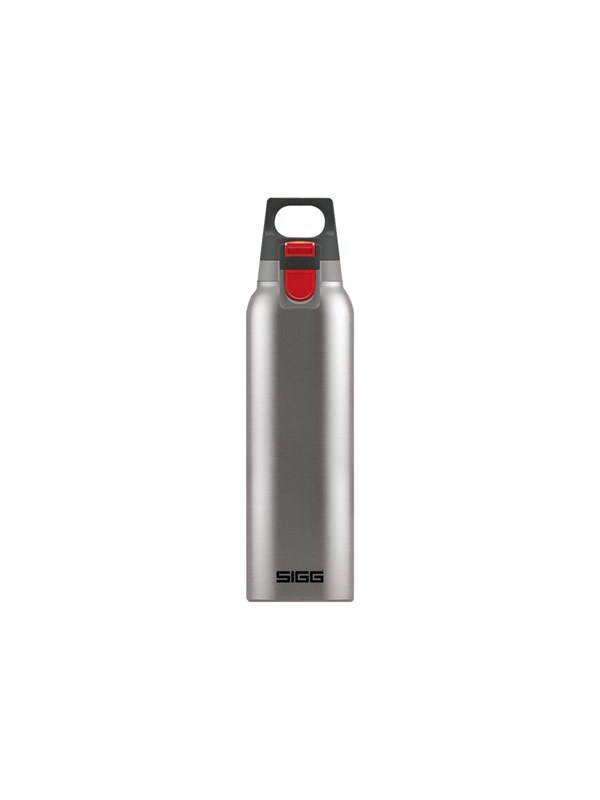 Image of   Sigg Hot & Cold ONE - thermal flask - brushed - Size 7.2 cm - Height 26.5 cm - 0.5 L