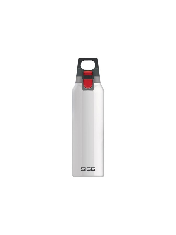 Image of   Sigg Hot & Cold ONE - thermal flask - white - Size 7.2 cm - Height 26.5 cm - 0.5 L