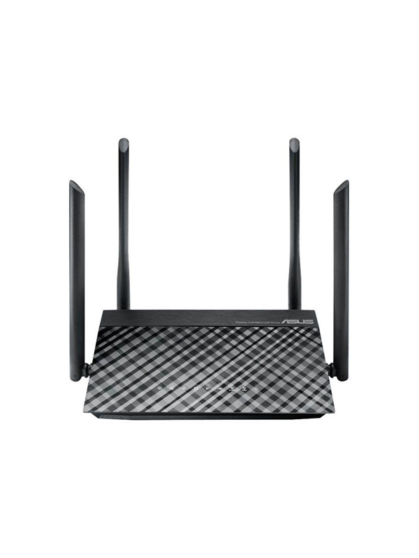 Image of   ASUS RT-AC1200 - Trådløs router AC Standard - 802.11ac