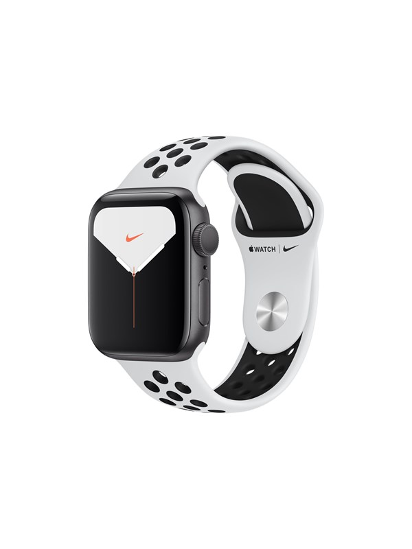 Image of   Apple Watch Nike Series 5 (GPS) 40mm Silver Aluminium Case with Pure Platinum/Black Nike Sport Band