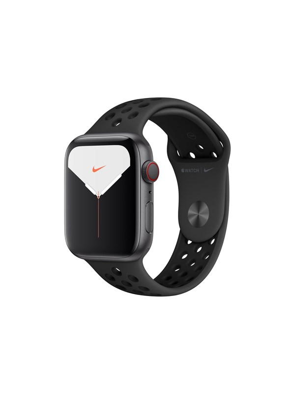 Image of   Apple Watch Nike Series 5 (GPS + Cellular) 44mm Space Grey Aluminium Case with Anthracite/Black Nike Sport Band