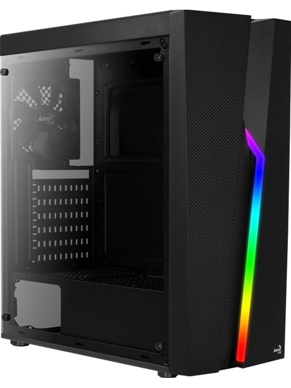 Image of   AeroCool Bolt TG RGB - Kabinet - Miditower - Sort