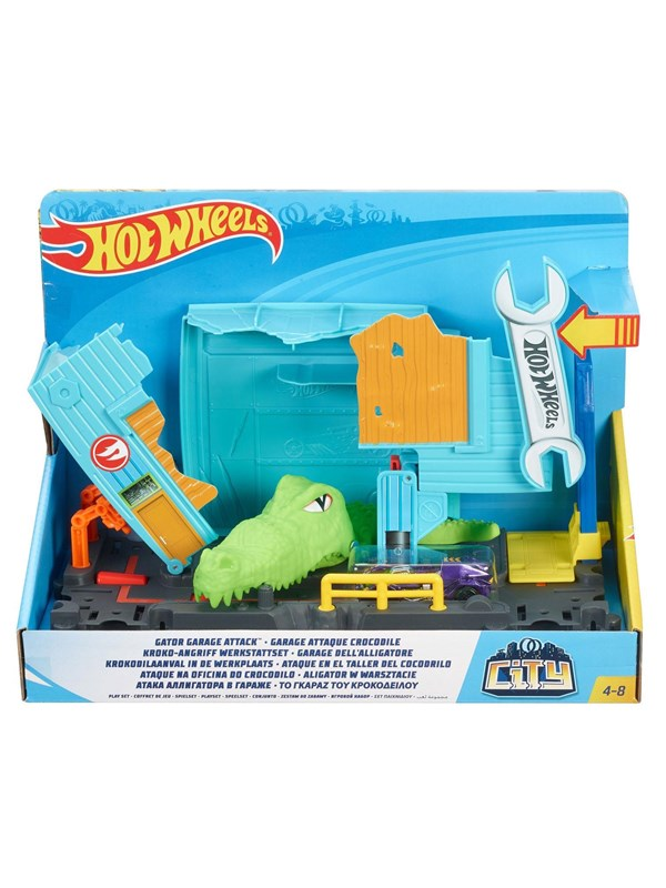 Image of   Hotwheels Hot Wheels City - Crocodile attack in the Workplace