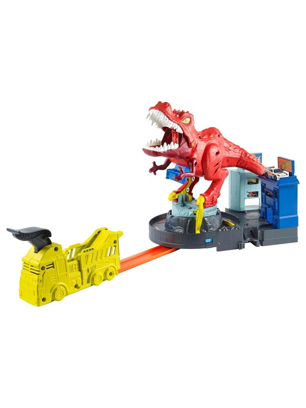 Image of   Hotwheels Hot Wheels City T-Rex Ravage Playset