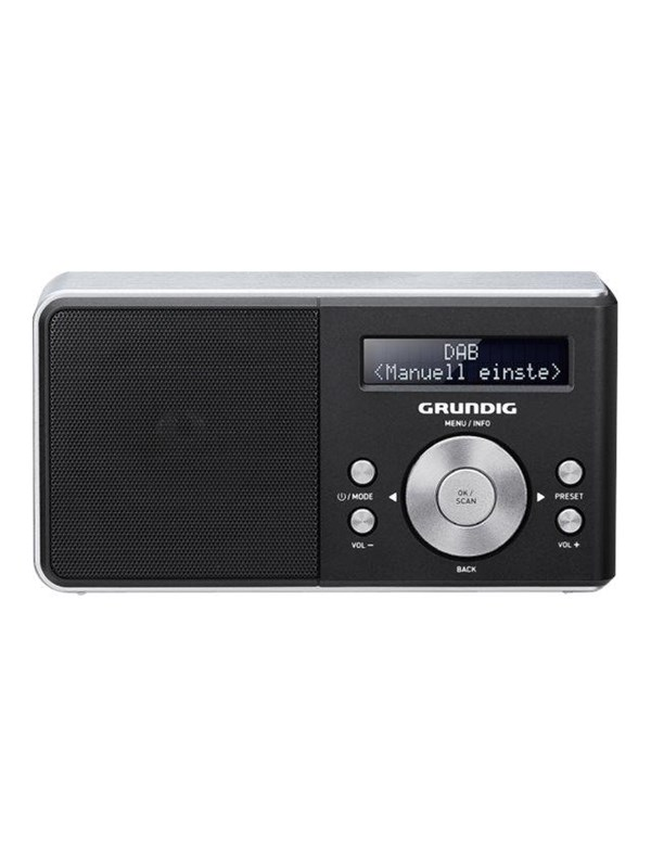 Image of   Grundig Bærbar radio Music 5000 DAB+ - Mono - Sort