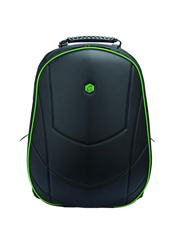 Image of   BESTLIFE 17'' Gaming Backpack Assailant Black/Green