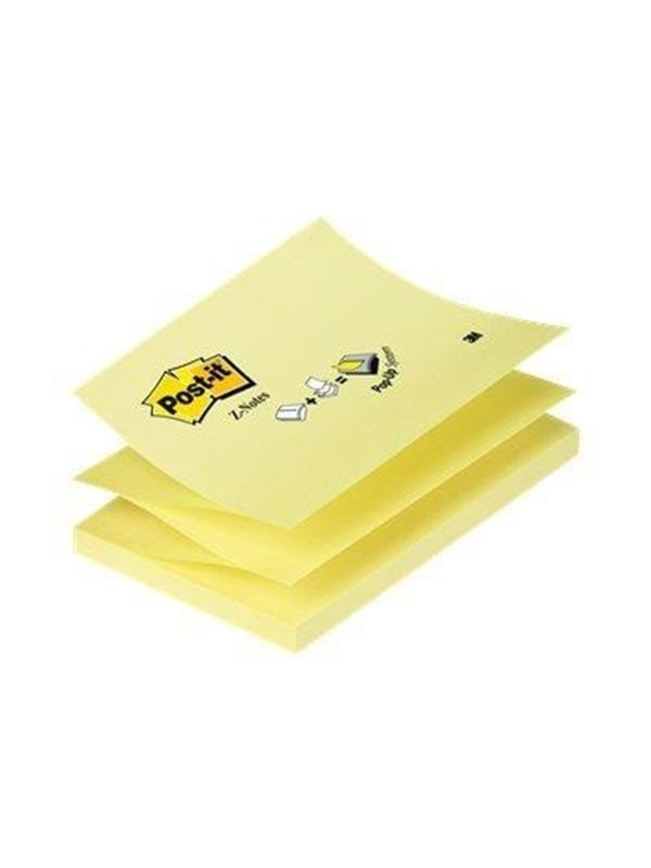 Image of   3M Post-it Z-Notes 76x127 gul