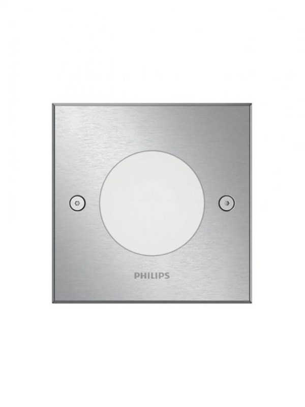 Image of   Philips Crust recessed inox 1x3W 230V