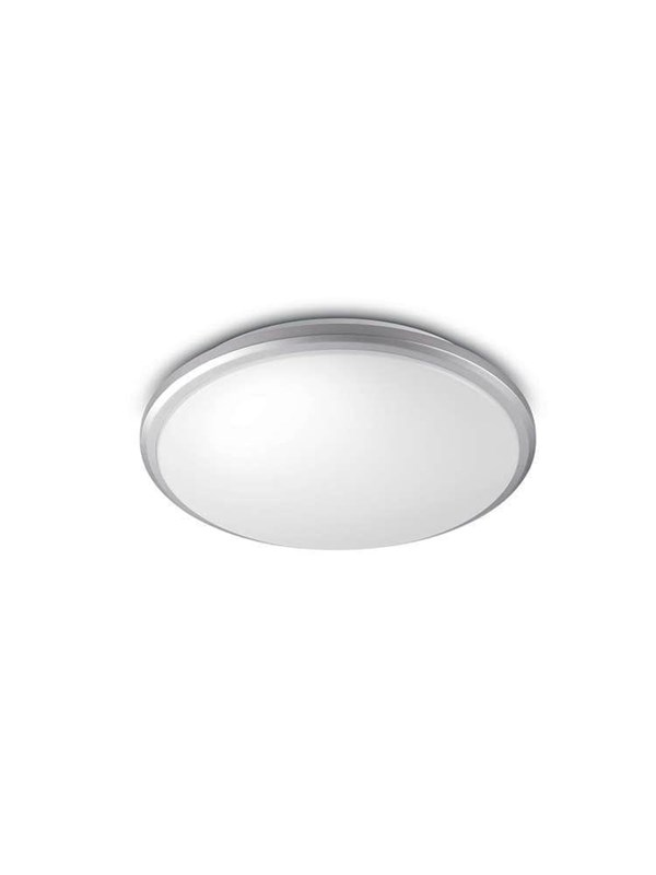Image of   Philips Guppy ceiling lamp grey 1x17W SELV