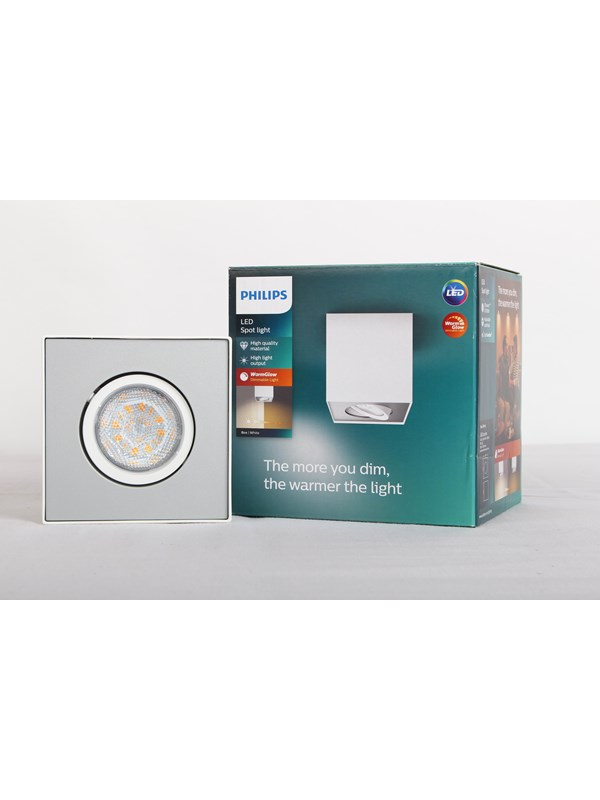 Image of   Philips BOX single spot white 1x4.5W SELV