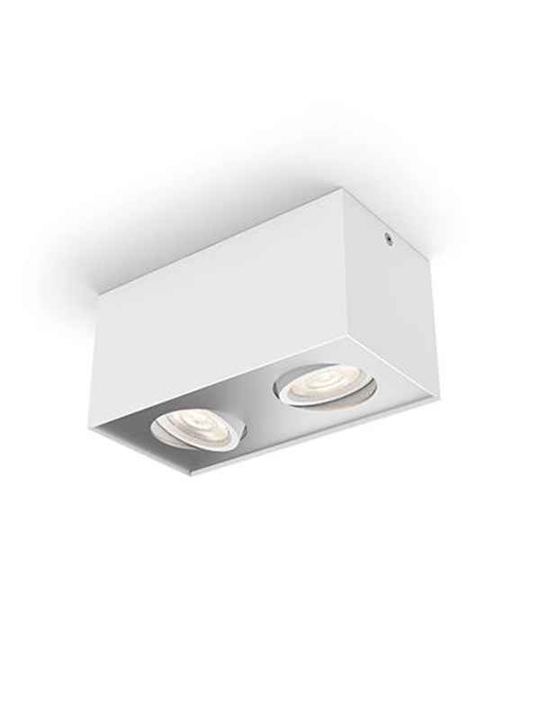 Image of   Philips BOX special form white 2x4.5W SELV