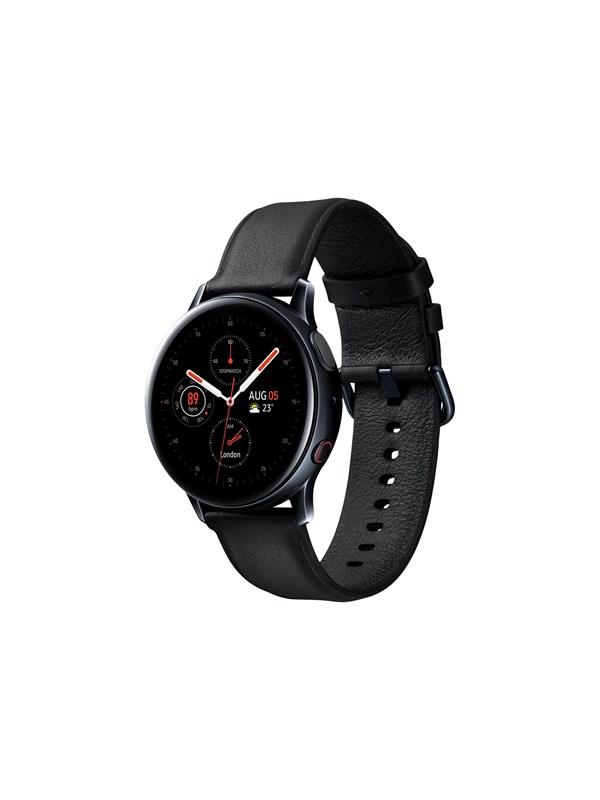 Image of   Samsung Galaxy Watch Active 2 40mm 4G - Stainless Steel - Black
