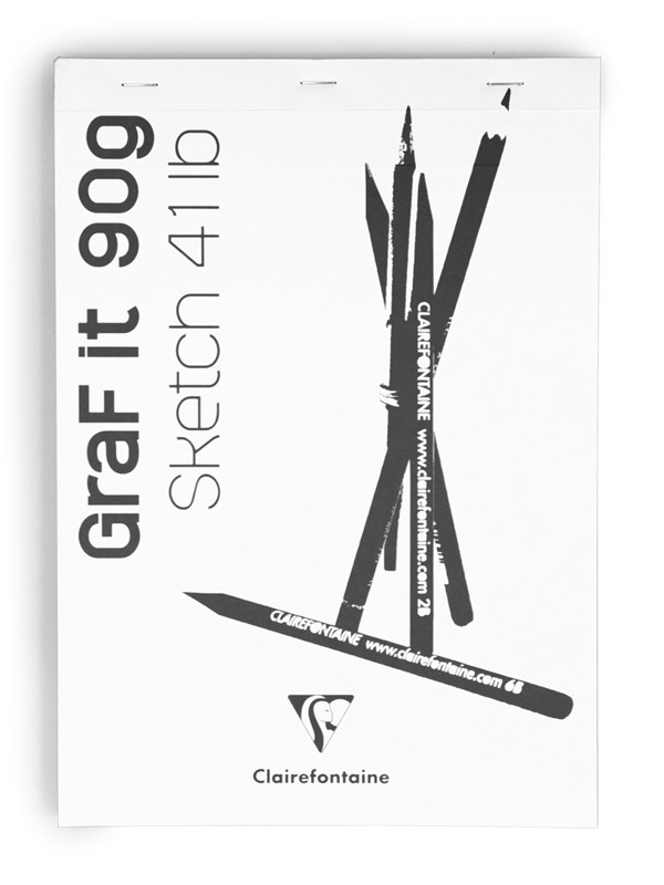 Image of   Clairefontaine GRAF IT A4 - standard note pad 160 pages