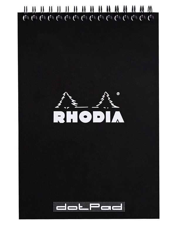 Image of   Clairefontaine RHODIA NOTEPAD CLASSIC A5 160 spages DOT