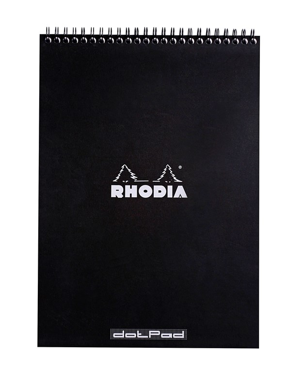 Image of   Clairefontaine RHODIA NOTEPAD CLASSIC A4 160 spages DOT