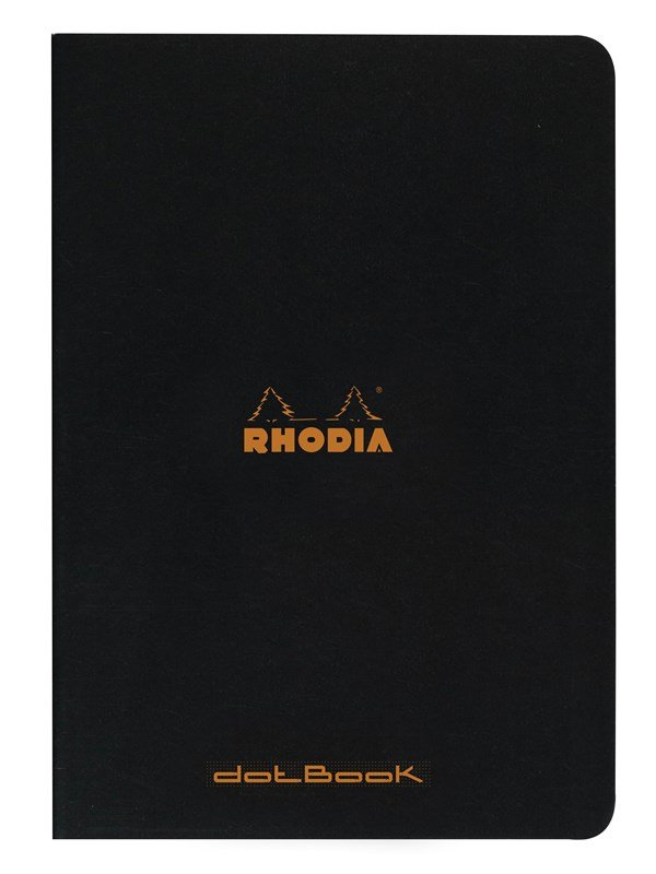 Image of   Clairefontaine RHODIA. STAPLED BOOK A4 DOT notebook 48 pages