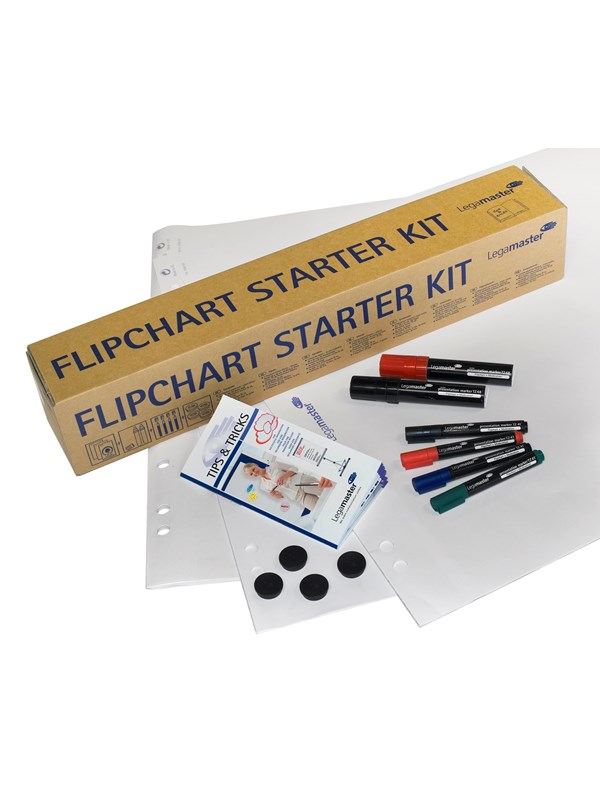 Image of   Legamaster FLIPCHART STARTERKIT everything to start presenting