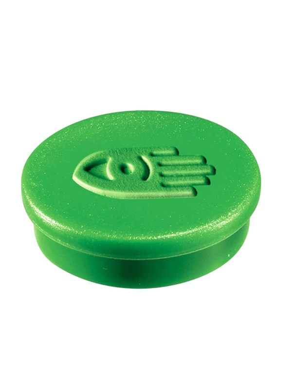 Image of   Legamaster MAGNET 30MM - 1812 box of 10 green magnets for Whiteboard