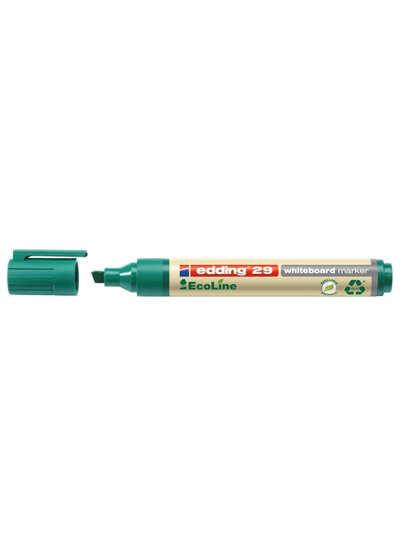 Image of   Edding 29 WHITEBOARD MARKER green 90% recycled plastic - 10 pcs