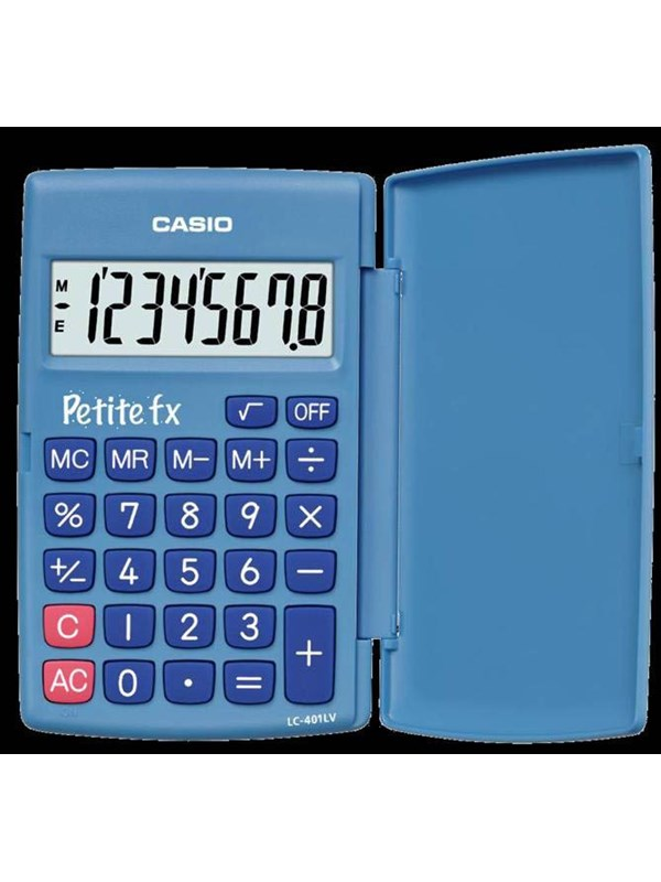 CASIO LC401LV simpel calculator with basic funktions