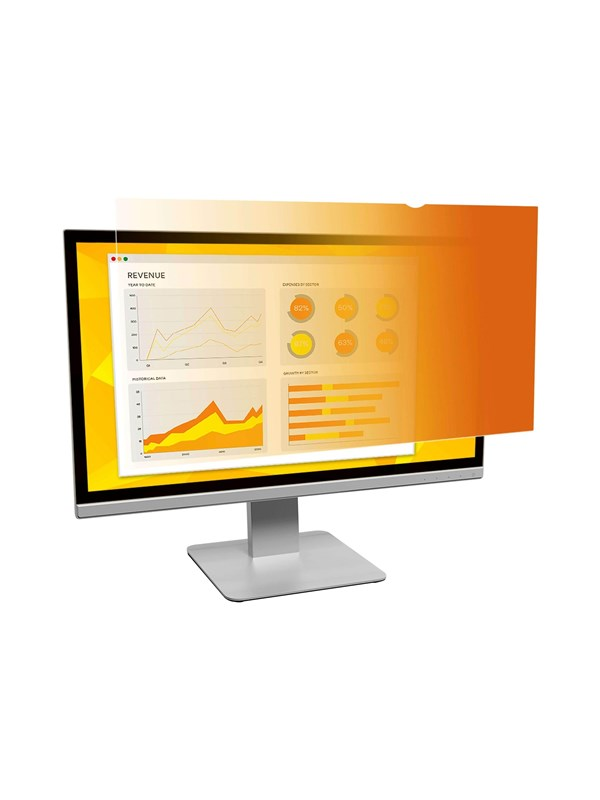 """Image of   3M Skærm Gold Privacy Filter for 20.0"""" Widescreen Monitor -"""