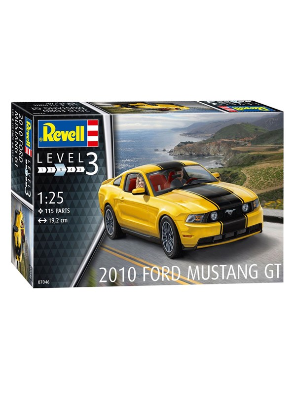 Image of   Revell 2010 Ford Mustang GT
