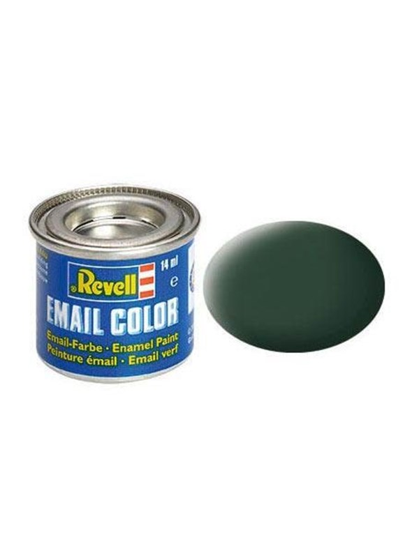 Image of   Revell enamel paint # 68-dark green Matt