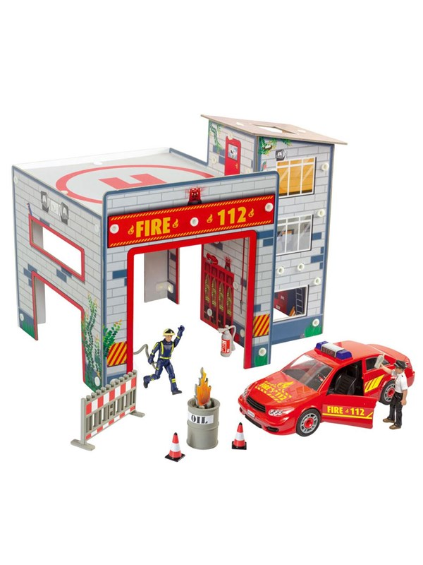 Image of   Revell Junior Kit - Fire station