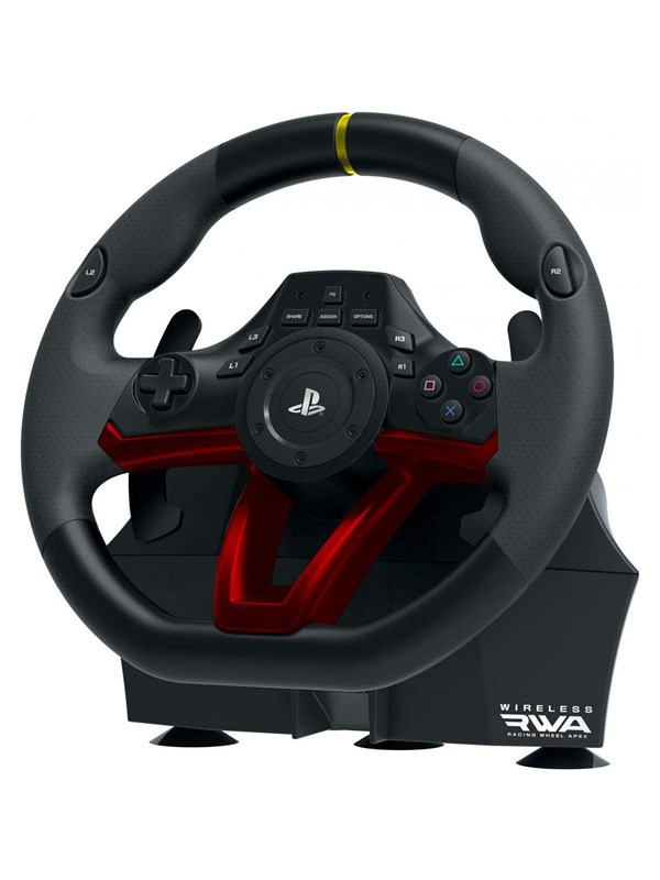Billede af HORI RWA: Racing Wheel APEX Wireless - Rat, gamepad og pedalsæt - Sony PlayStation 4
