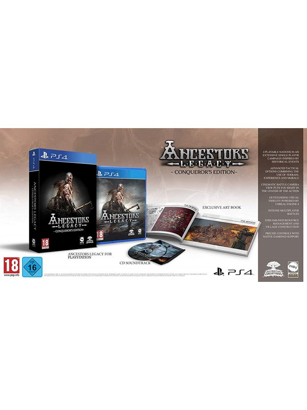 Image of   Ancestors Legacy: Conqueror's Edition - Sony PlayStation 4 - Strategi
