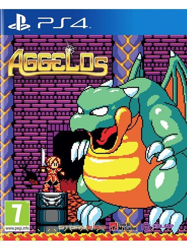 Image of   Aggelos - Sony PlayStation 4 - Platformer