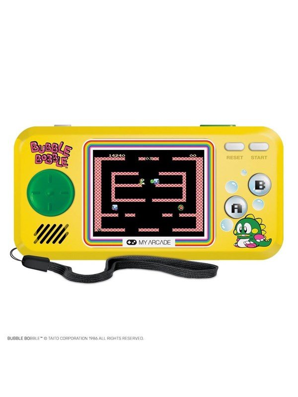 Image of   dreamGEAR Pocketplayer Bubble Bobble 3 games