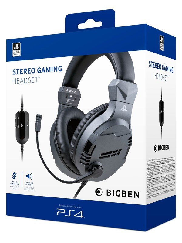 Billede af BigBen Interactive PS4/PS5 Gaming Headset V3 - Titan - Headset - Sony Playstation 5
