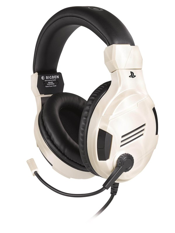 Image of   BigBen Interactive PS4 Gaming Headset V3 - White - Headset - Sony PlayStation 4