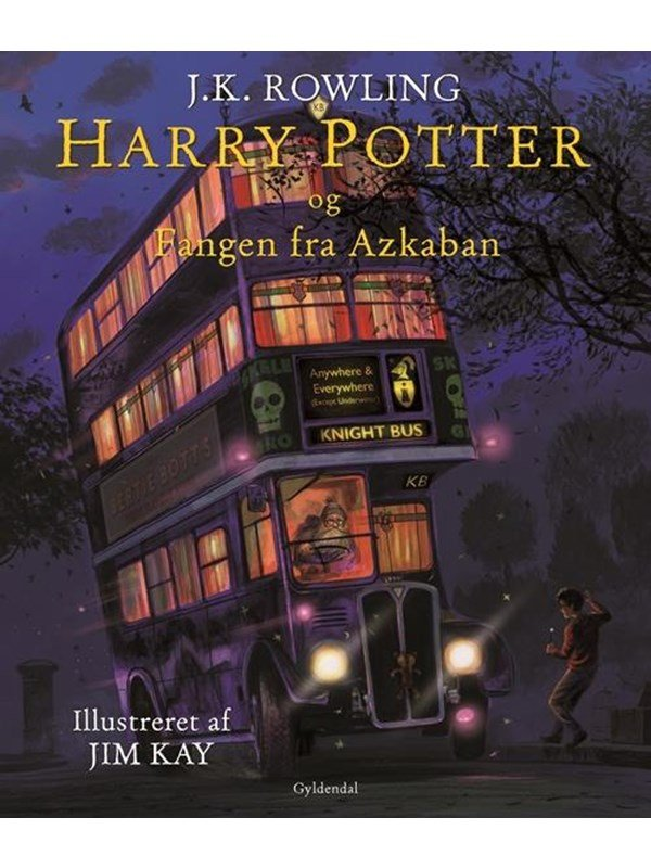 Image of   Harry Potter illustreret 3 - Harry Potter og fangen fra Azkaban