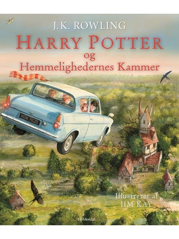 Image of   Harry Potter Illustreret 2 - Harry Potter og Hemmelighedernes Kammer