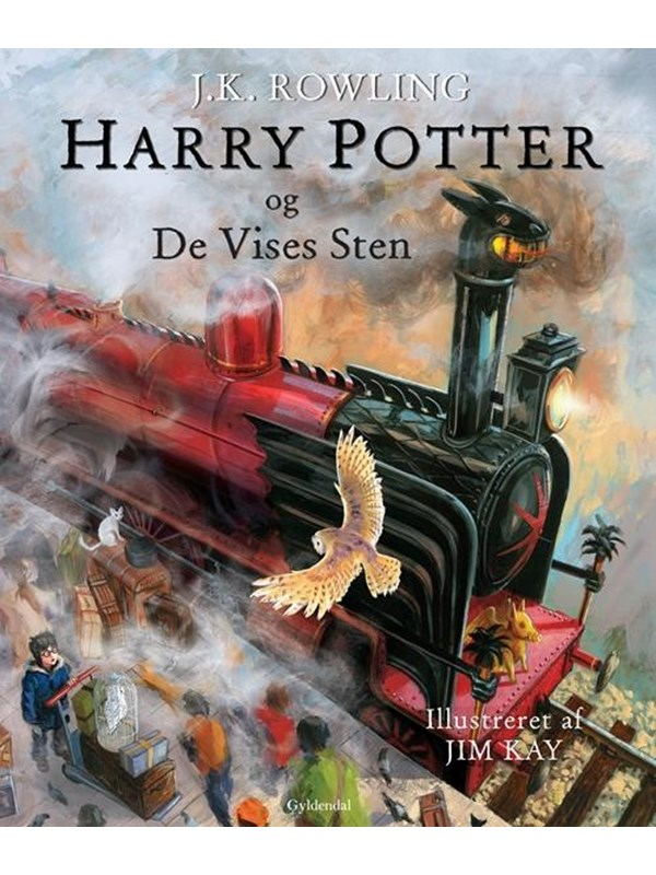 Image of   Harry Potter Illustreret 1 - Harry Potter og De Vises sten