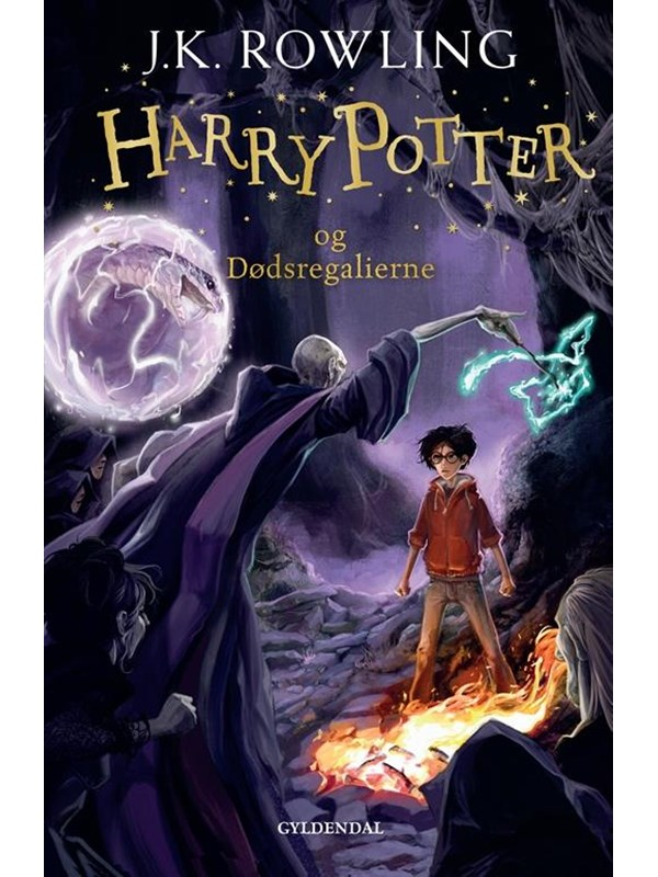 Image of   HARRY POTTER OG DØDSREGALIERNE
