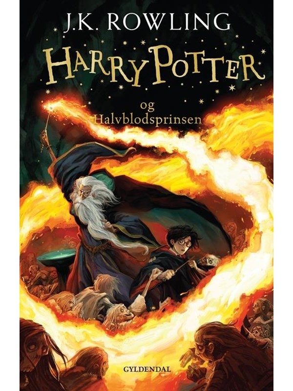Image of   HARRY POTTER OG HALVBLODSPRINSEN