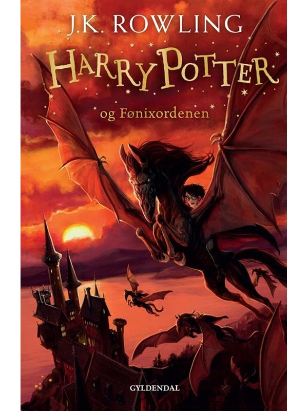 Image of   HARRY POTTER OG FØNIXORDENEN