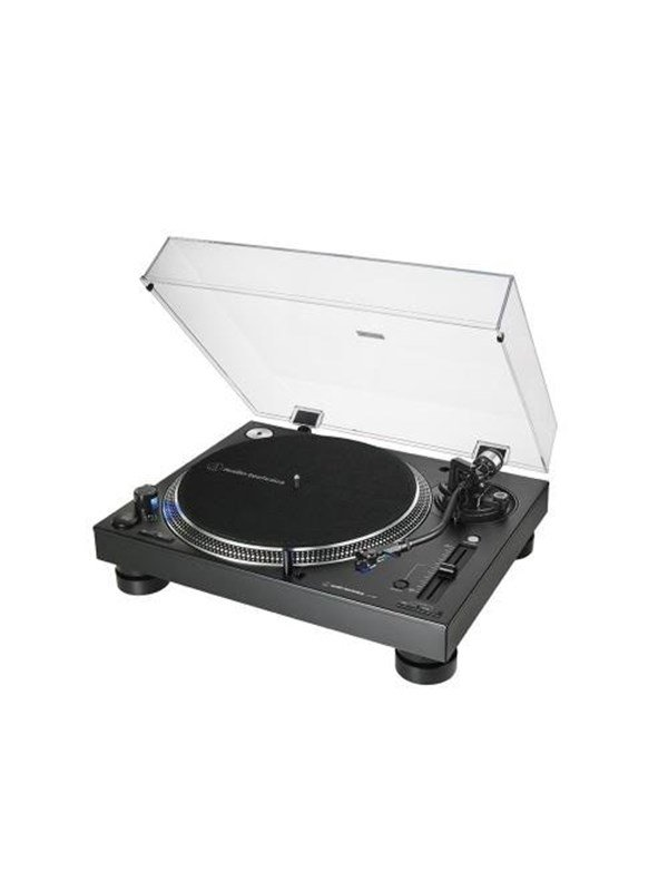 Image of   Audio-Technica Audio Technica Direct Drive Turntable AT-LP140XP 3 Pladespiller - Sort