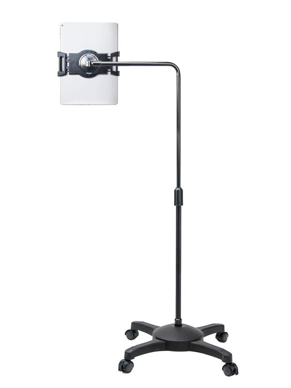 Image of   Aidata Lounge Universal tablet floor stand on whe